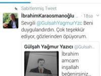 Engelli Gülşah, Başkan Karaosmanoğlu'nu resmetti
