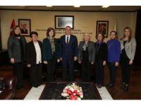 Kadın Hakları Derneği'nden Başkan Zolan'a ziyaret