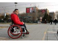 """Burak Şen: """"Engelli insanlarımızı evlerinden çıksın, spor yapsın"""""""
