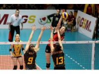 VakıfBank, Galatasaray'ı 3-0 mağlup etti