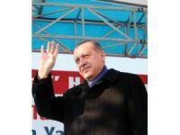 """Cumhurbaşkanı Erdoğan: """"İstedikleri kadar lav silahı ile ateş etsinler"""""""
