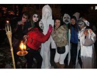 Çamlıca kasabasında Trakya geleneği 'Bocuk Gecesi'