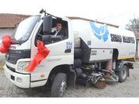 Subaşı'na yeni yol temizleme aracı