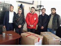 Ergani'de 800 kişiye kışlık giyecek yardımı