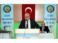 Salihli esnaf kefalet mali kongresini yaptı