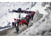 Zigana'da çığ faciasında hayatını kaybeden 10 dağcı törenle anıldı