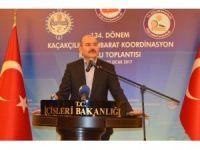 Bakan Soylu, Kaçakçılık İstihbarat Koordinasyon Kurulu Toplantısı'na katıldı (2)
