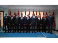 Emniyet müdürlerinden Vali Yavuz'a ziyaret