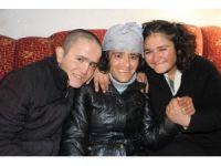Harabe evde engelli çocuklarıyla yaşam mücadelesi veriyor