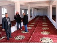 Harran Belediyesinden cami ve taziye evlerine halı desteği