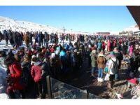 Erciyes'te iki rekor kırıldı