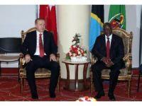 Cumhurbaşkanı Erdoğan, Tanzanya Cumhurbaşkanı Magufili ile görüştü