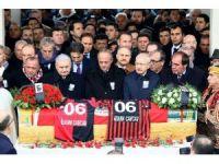 Devletin zirvesi efsane başkan İlhan Cavcav'ı uğurladı