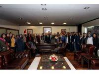 Yeni Seçmen Biriminden Başkan Zolan'a ziyaret