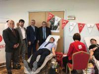 TÜİK ve ÇKA personelinden Kızılay'a kan ve kök hücre bağışı