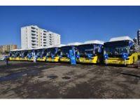 Büyükşehir Belediyesi araç filosunu genişletti
