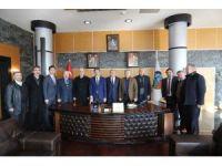 ASKF Başkanı Zımba'dan Alemdar'a ziyaret