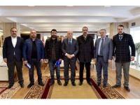 15 Temmuz gazilerinden Başkan Sekmen'e ziyaret