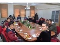 Müdür Bozdemir koruyucu ailelerle bir araya geldi
