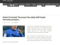 Prosinecki'den Bursaspor açıklaması