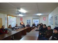 Mobilya firması personeline arama kurtarma eğitimleri