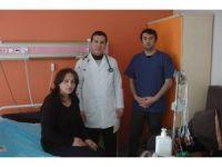 YYÜ'de 'Eriyen stent' tedavisi