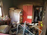 Evi yanan Güler ailesine devlet sahip çıktı