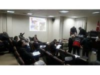 Akçakoca belediyesi personeline ilk yardım eğitimi