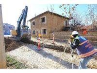 Çivril Irgıllı Mahallesi'nde alt yapı çalışması