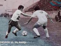 Trabzonspor'a 50. yıl marşı !