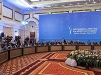 Astana'daki Suriye görüşmelerinde ikinci gün