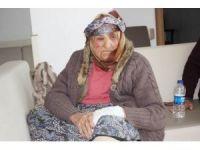 Uşak'ta evi yanan kadına devlet sahip çıktıı