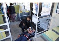 Hastaya ilk müdahaleyi otobüs şoförü yaptı