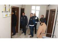 Dar gelirli aileler için yapılan konutların kiralandığı tespit edilince operasyon düzenlendi