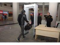 Düzce Belediyesi terminalinde üst düzey güvenlik