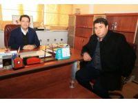 15 Temmuz Gazisi Veyis Gümüşsoy'dan Başkan Yazgı'ya ziyaret