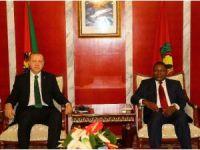 Erdoğan, Mozambik Cumhurbaşkanı Nyusi ile görüştü