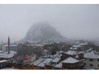 Afyonkarahisar'da kar yağışı
