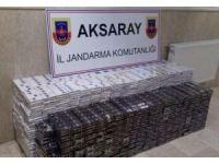Otobüslerin bagajlarında 7 bin 800 paket kaçak sigara ele geçirildi