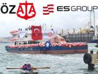 """Es Group imzalı Türkiye'nin en büyük tarama gemisi """"KANUNİ"""" denize indi"""