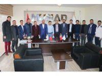Aksaray'da MÜSİAD yönetimi basınla buluştu