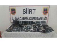Siirt'te kaçak cep telefonu ve tablet ele geçirildi