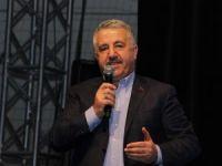 Bakan Arslan, AK Partili üyelerle buluştu