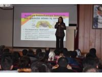 Susuz'da öğrencilere seminer verildi