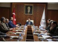 Vali Aktaş, siyasi parti temsilcileri ile toplantı yaptı