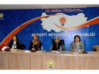 AK Parti Genel Merkez Kadın Kollarından Nevşehir'e ziyaret