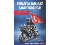Altıncı Dünya Şampiyonluğu için destekler Kenan Sofuoğlu'na