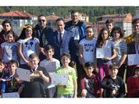 Bilecik'te Okul Sporları Modern Pentatlon müsabakaları sona erdi