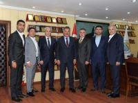 Mersin GİAD, inşaat sektöründeki sorunları Başkan Tuna ile paylaştı