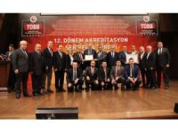 Safranbolu TSO C Sınıfı TOBB Akreditasyon Belgesini aldı